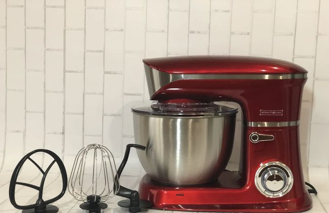 Кухонный тестомес миксер з чашей 6.5 литров 1900 ватт мощность Royal