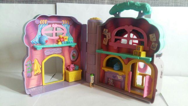 Домик-чемоданчик Винни Пуха дом Mattel 2003