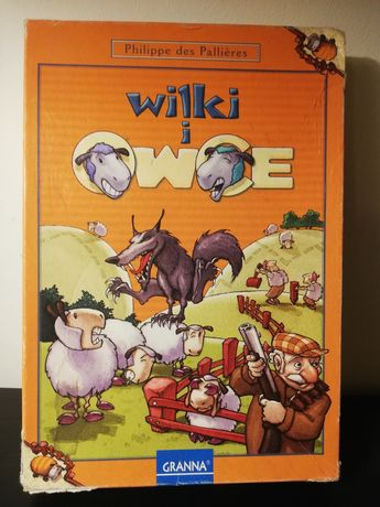 Gra edukacyjna Wilki i owce Granna