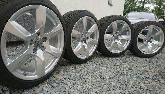 Koła Audi 18 cali 5x112 ET42 ET55 8,5 10,5 cali Opony 235/35 Czujniki