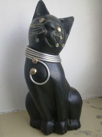 Kot Egipski stara metalowa Żeliwna Figurka Antyk inne