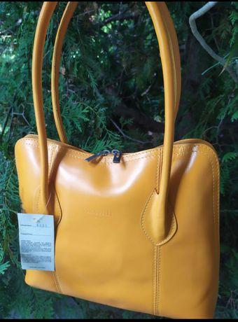 Сумка кожа сумка Италия сумочка сумка кожаная
