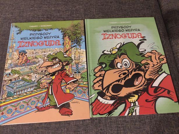 Komiks Przygody Wielkiego Wezyra Iznoguda tom 1 i tom 2 nowe folia