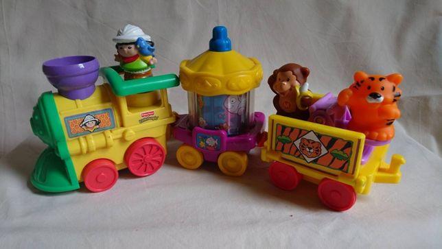 Музыкальный Поезд паровоз Fisher Price Little People