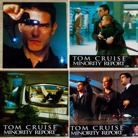 Raport Mniejszości - Tom Cruise - 4x karty promocyjne - kadry kinowe