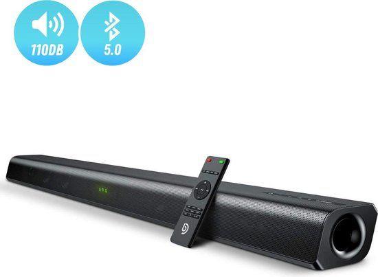Soundbar ODINE II 2.0 80W 110Db głośnik bluetooth