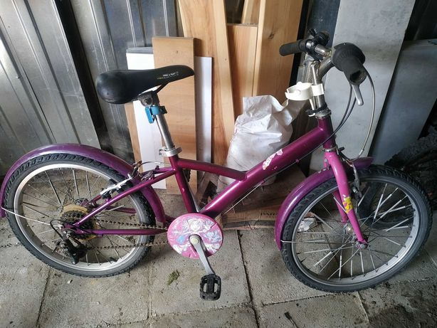 Rowerek 20 dla dziewczynki