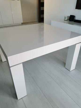 Stół biały wysoki połysk
