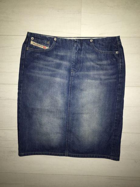 Diesel spódnica jeansowa ołówkowa roz 26 pas 76cm Nowa
