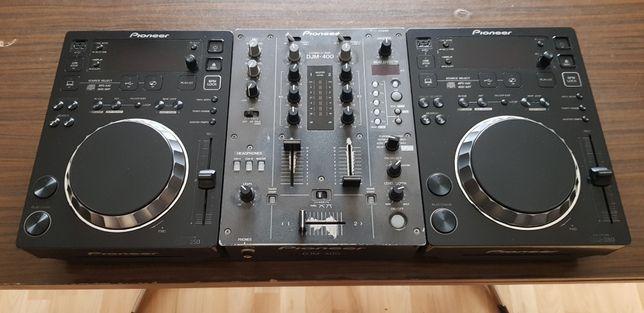Pioneer CDJ 350+DJM 400+Case