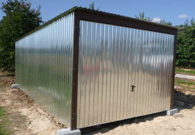 Garaż Blaszak Schowek Magazyn na wymiar na budowę