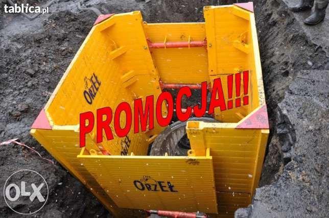 Szalunki do wykopów-studnia,zabudowa przepompowni 14900PLN!!!PROMOCJA