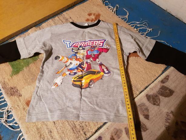 Bluzka transformers dla chłopca