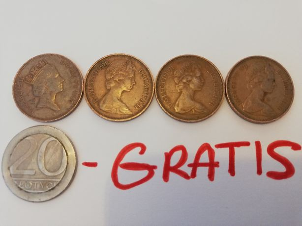 MONETY 2 Two New Pence czyt. Opis ZAMIANA