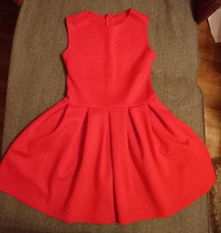 Платье красное размер XS