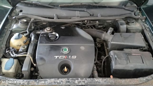 Motor Octavia A3 Golf Leon Toledo 1.9tdi 110cv ASV