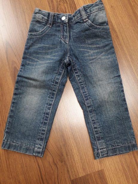 Dziecięce spodnie jeansowe ocieplane. Rozm.86.