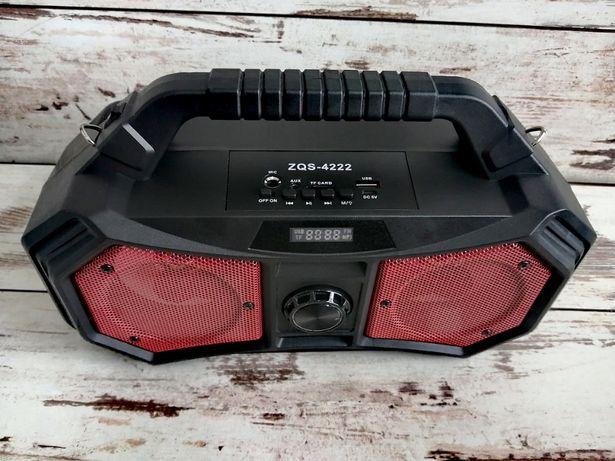 Głośnik ZQS- 4222 BLUETOOTH Multimedialny Duża Moc Wyświetlacz LCD Lat