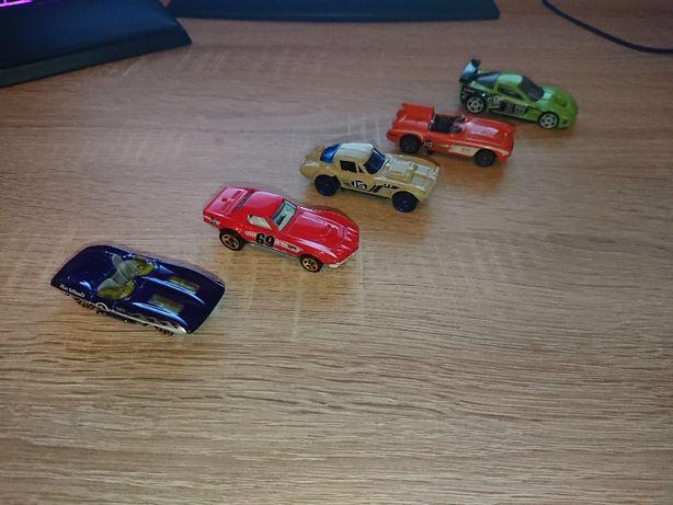 Hot Wheels Chevrolet Corvette 5-cio pak kolekcja
