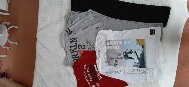 Spodnie i bluzki r. 152-158