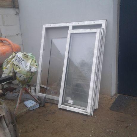 okno pcv nowe 3 szyby 1500x1600 , 900x1200
