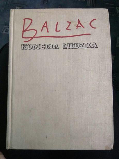 Balzac Komedia ludzka Dom pod kotem z rakietką 1957 super stan!