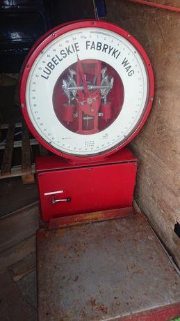 Waga zegarowa lubelskiej fabryki wag