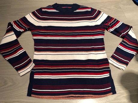 Tommy Hilfiger sweter w paski rozm. S