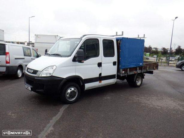Iveco Daily 35C17 cab dupla 3500kgs caixa aberta