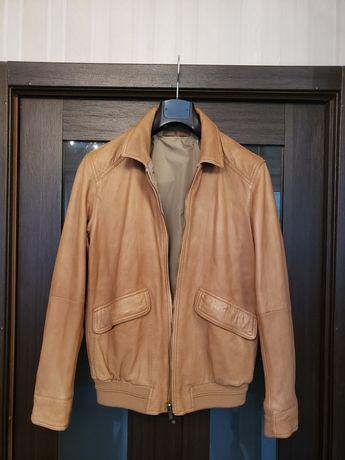 Куртка кожаная мужская Massimo Dutti