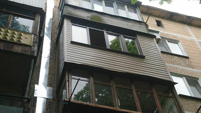 Балконы, лоджии, пластиковые окна в Донецке, Макеевке, Горловке и обл.