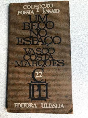 """""""Um Beco no Espaço"""", de Vasco Costa Marques (1ª edição - livro raro)"""