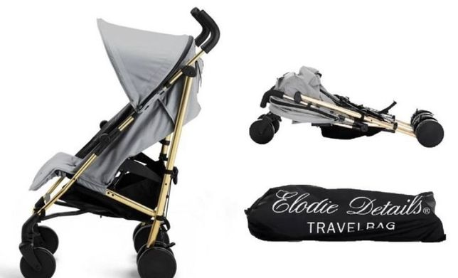 Прогулочная коляска elodie details Golden grey
