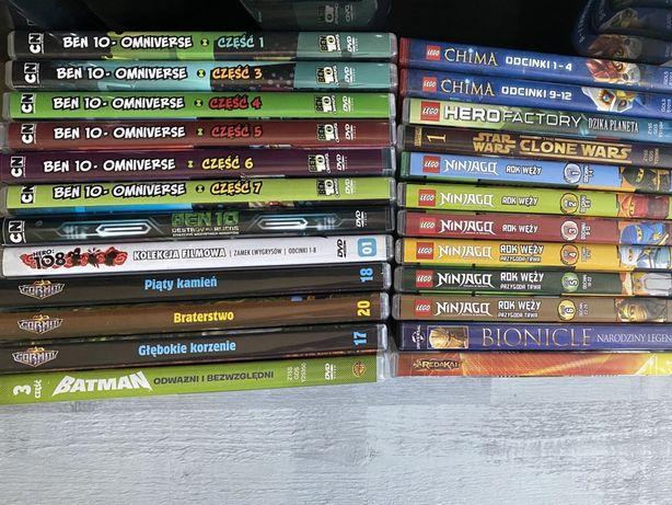 Super zestaw 25 bajek DVD Ben Chima Ninjago