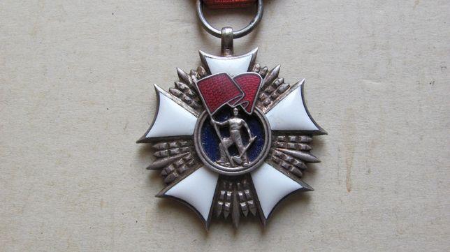 PRL - Order Sztandaru Pracy 2 klasy , stan super, oryginalny 100%