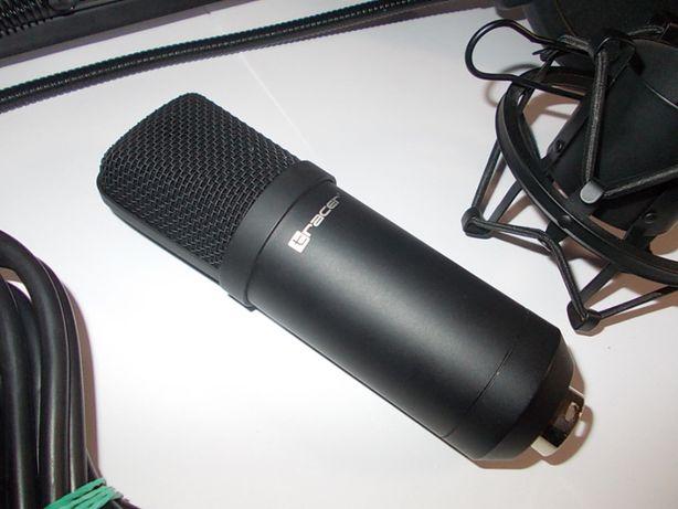 Mikrofon pojemnościowy TRACER STUDIO PRO + akcesoria ! Okazja