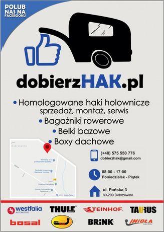 Montaż haków holowniczych, sprzedaż, dobierzhak.pl