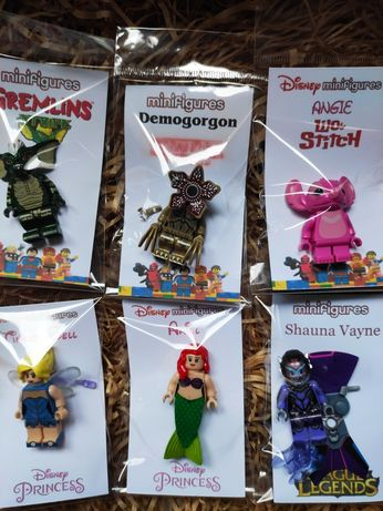 Minifiguras Princesa ARMY Sports comp. LeGo