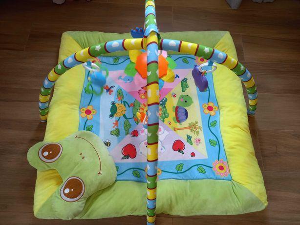 Tapete de actividade para bebé