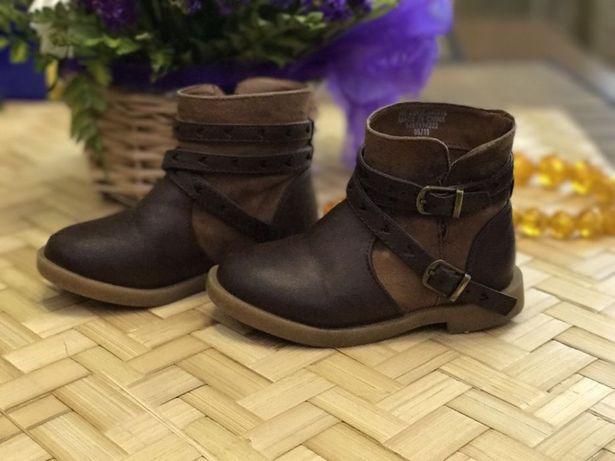 Модные ботинки для стильной девочки