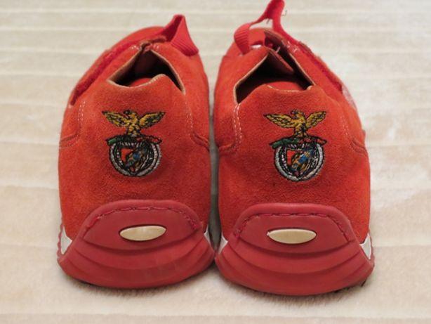 Sapatilhas/ténis Centenarium Benfica vermelhas - oficial SLB