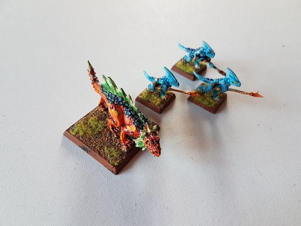Salamandra Lizardman Warhammer FB