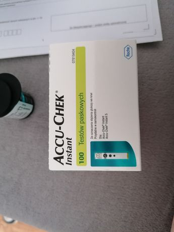 Accu-chek instant paski do glukometru