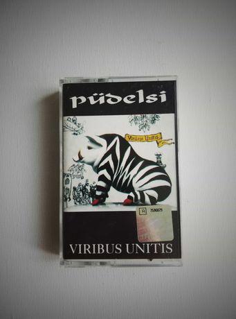"""Pudelsi """"Viribus Unitis """" kaseta audio"""