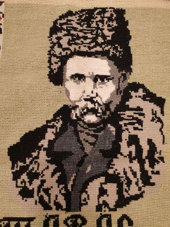 Портрет вышивка ручная Тарас Шевченко