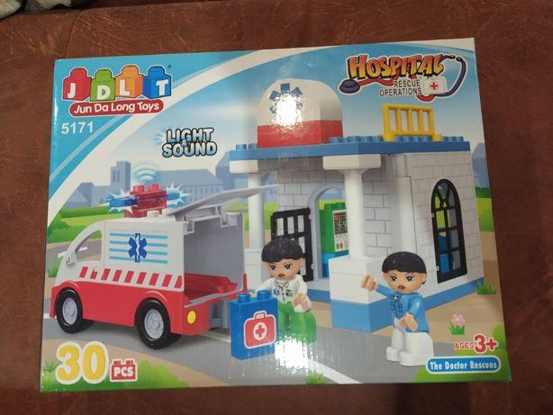 Конструктор Лего-аналог (госпиталь)