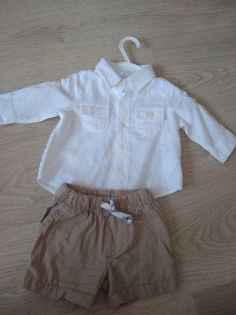 Koszula i spodenki 3-6 m