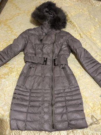 Очень классный Женский пуховик зима куртка новый