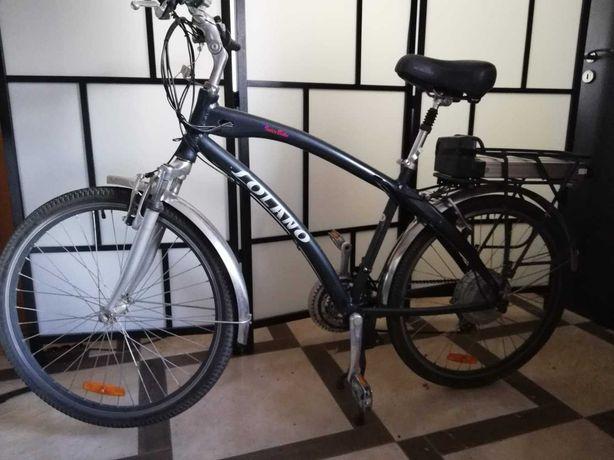 E-rower elektryczny Interbike Solano sprawny manetka