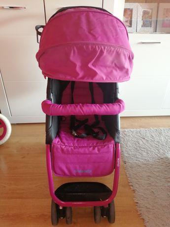 Super Okazja Wózek Baby desing click Pink